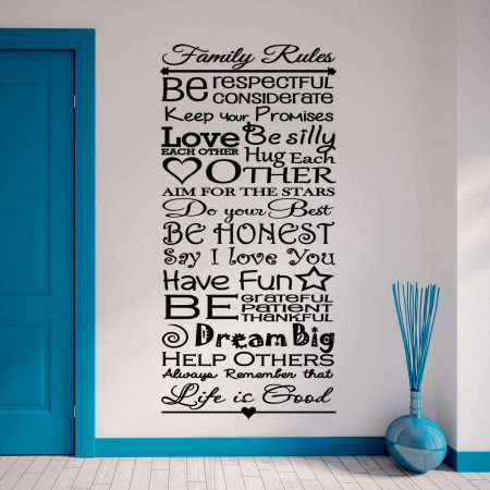 Family Roots Personalised Wall Art Decal Wall Art Wall