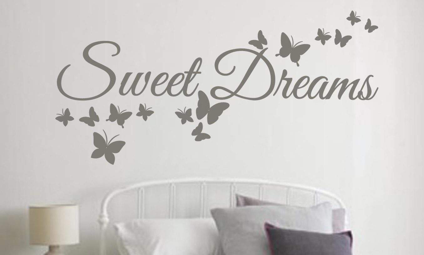 sweet dreams wall art decal sticker sweet dreams wall decals wall decals wall stickers