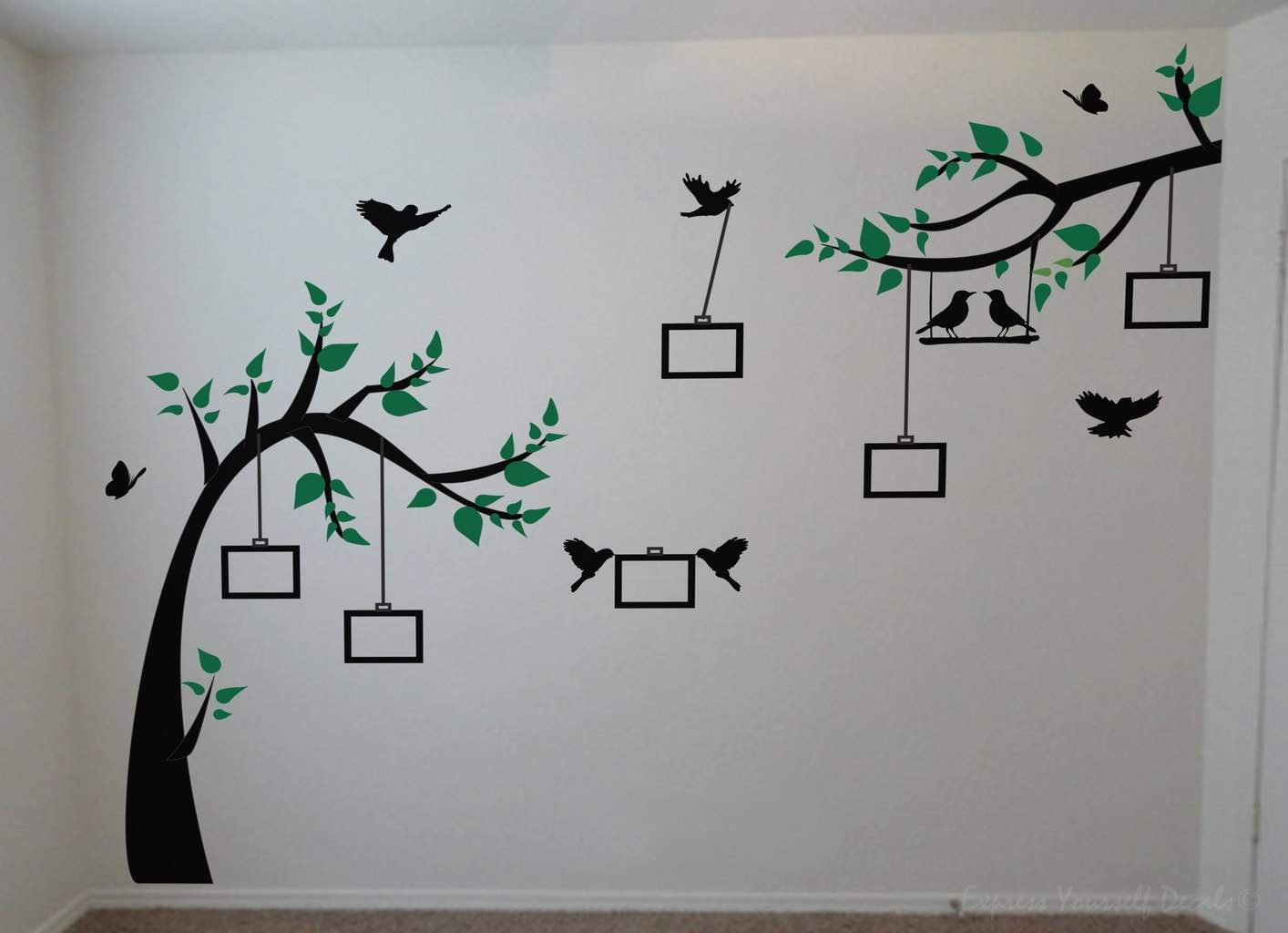 Photo Tree Wall Decal Wall Art Decal Sticker