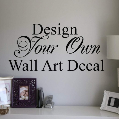 Design your own wall stickers ireland wall stickers for Create your own wall mural