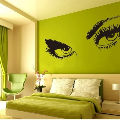Audrey Hepburn's Eyes | wall art decal stickers | wall stickers | custom wall art