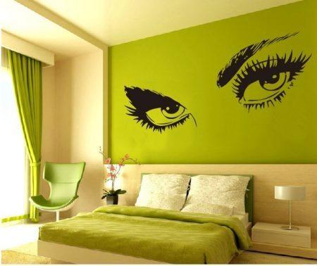 Audrey Hepburn's Eyes | wall art decal stickers | wall stickers | custom wall art
