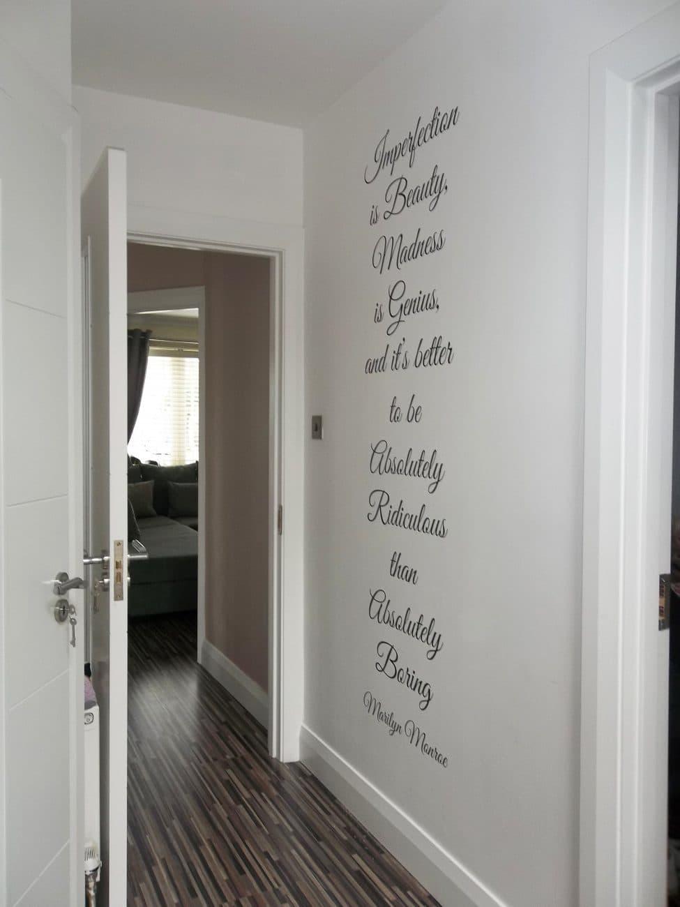 Marilyn Monroe Imperfection wall decal | Marilyn Monroe Imperfection | wall decalarilyn Monroe – Imperfection – wall art decal