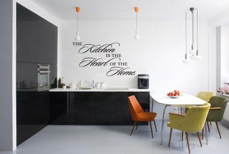 Kitchen wall art decal sticker