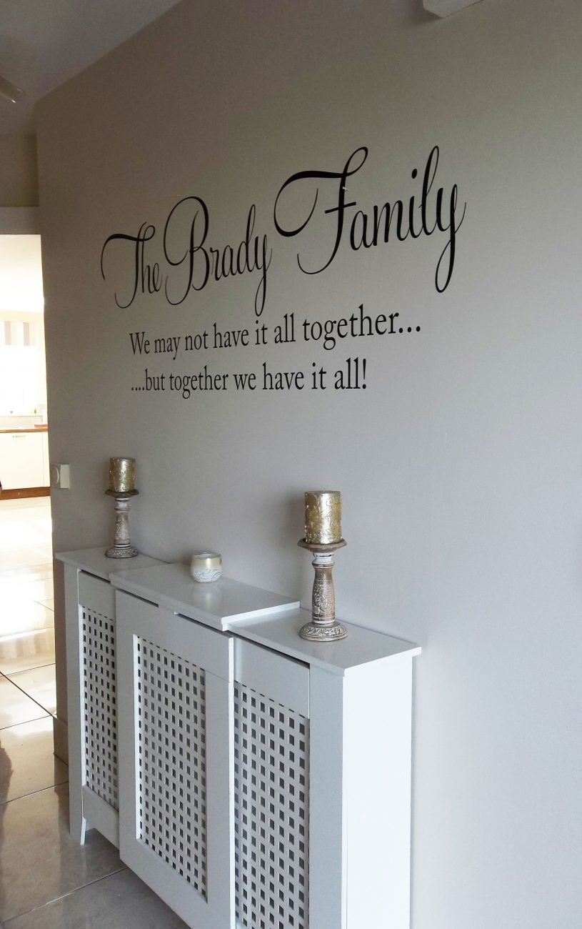 Together – wall art decal sticker