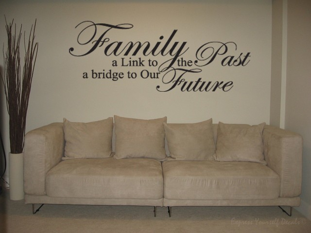 Family link wall decal