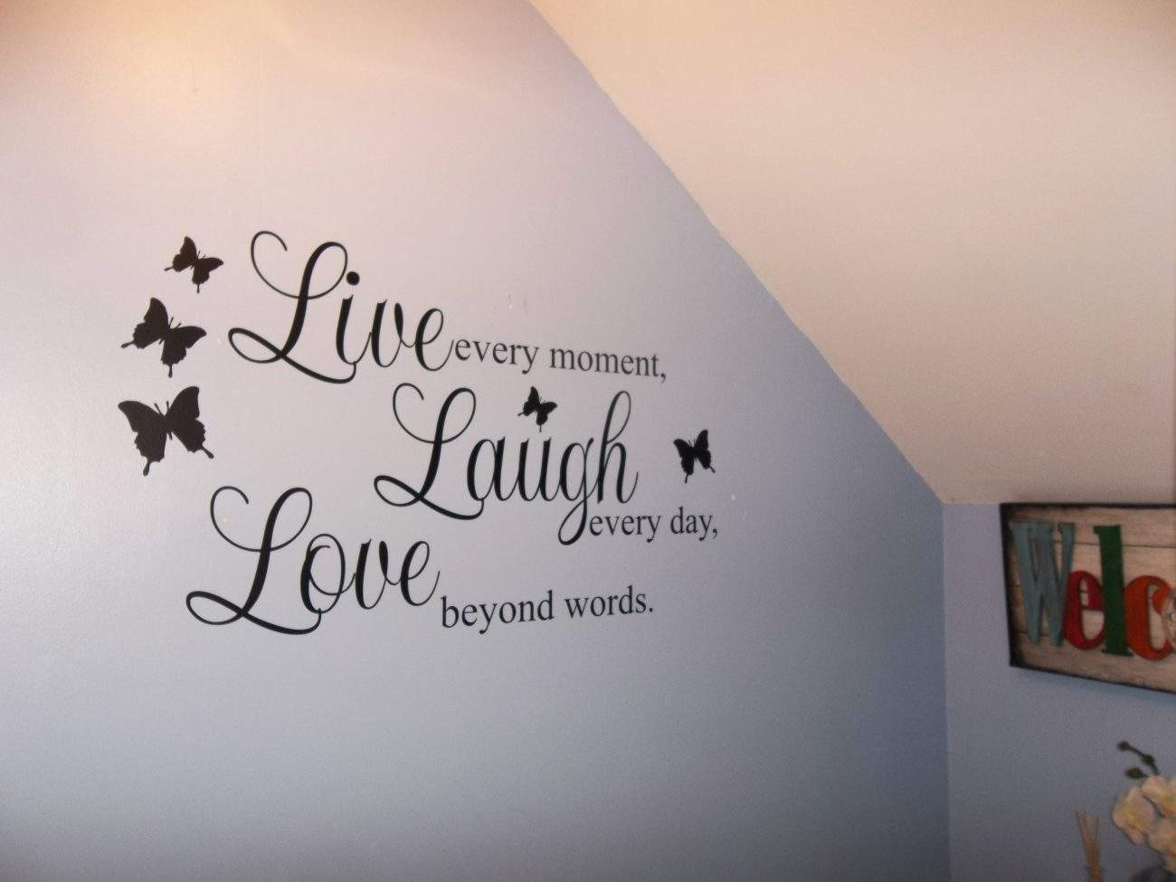 Live Laugh Love – wall art decal