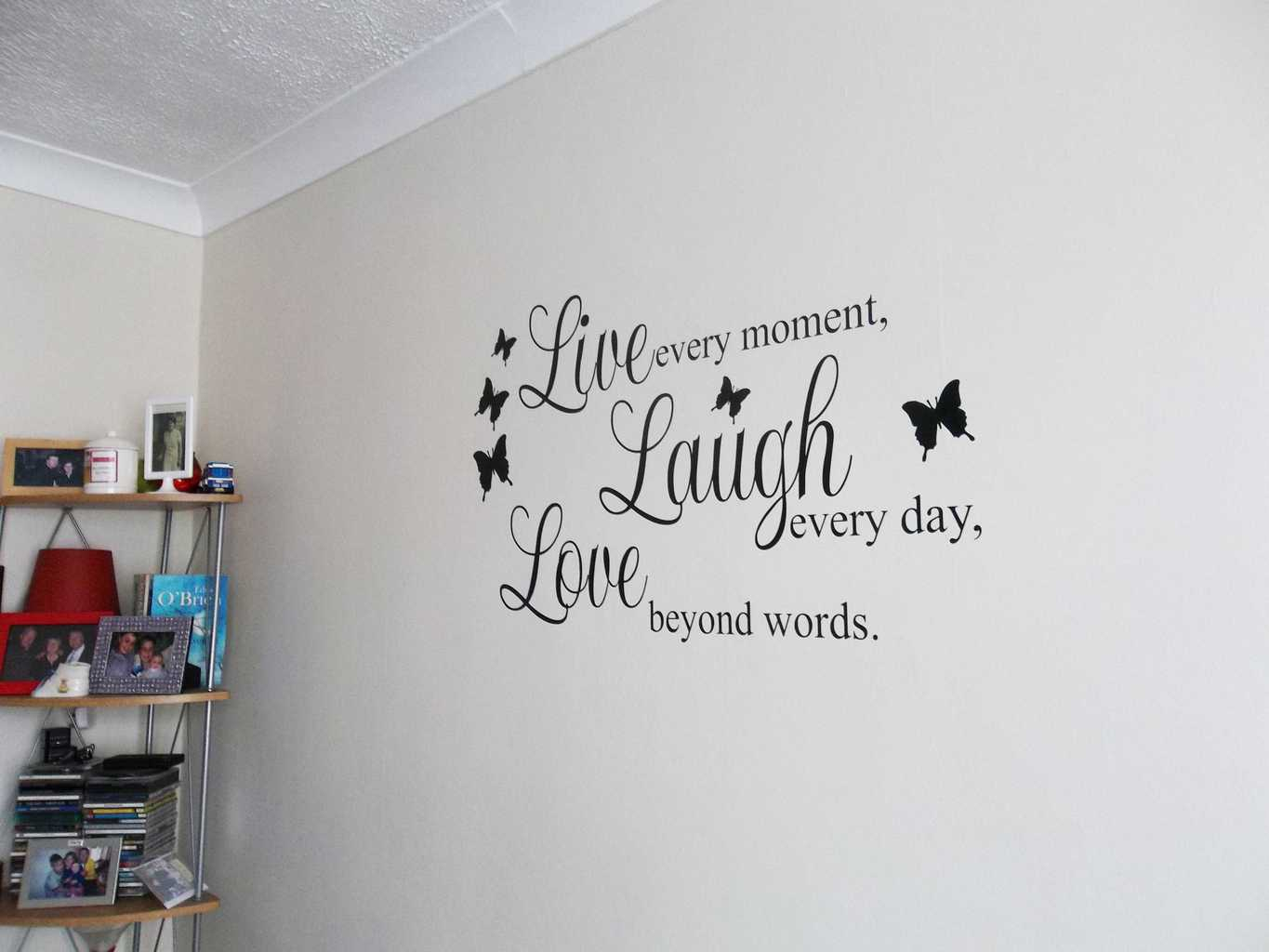 Live Laugh Love Wall Art Decal Wall Decals Wall