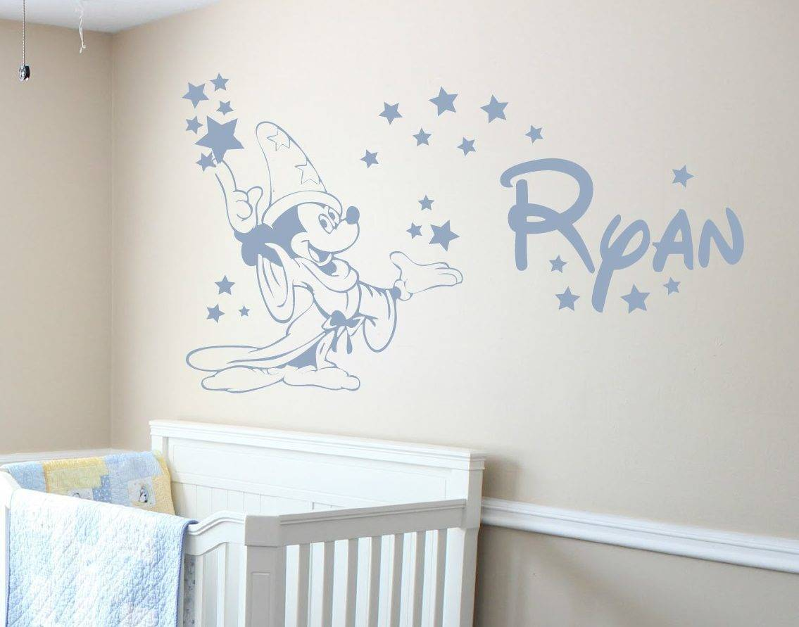 Mickey Mouse Fantasia Wall Decal Sticker Mickey Mouse Fantasia Wall Decal  Sticker Part 64