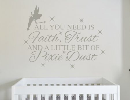 Peter Pan wall art decal sticker