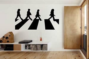 Abbey road wall decal sticker