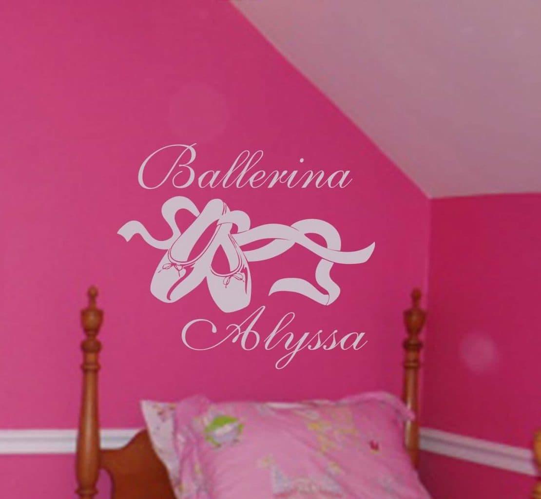 Ballerina wall art decal