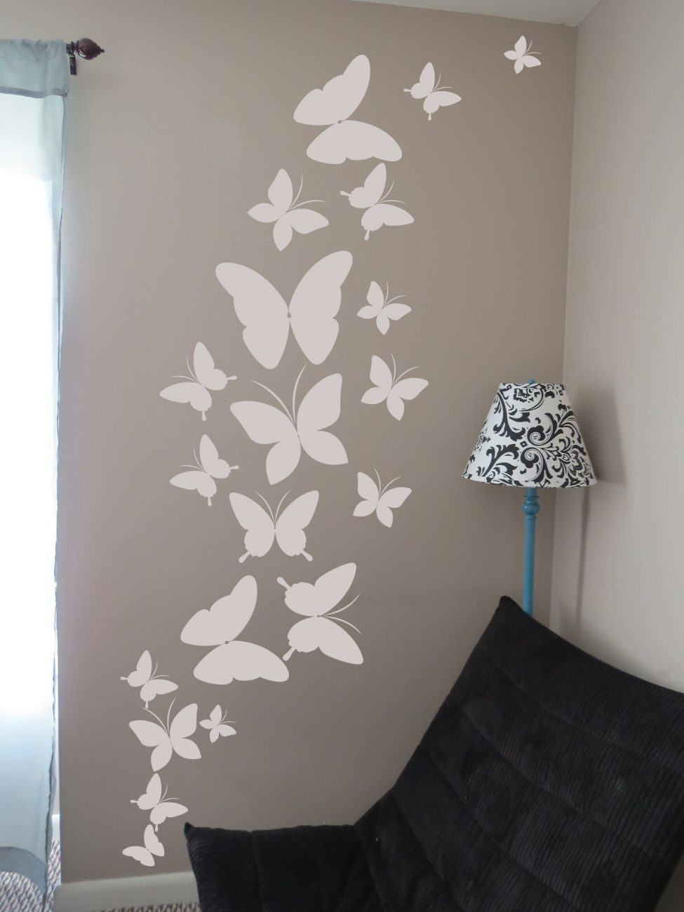 Butterfly cluster wall decal sticker
