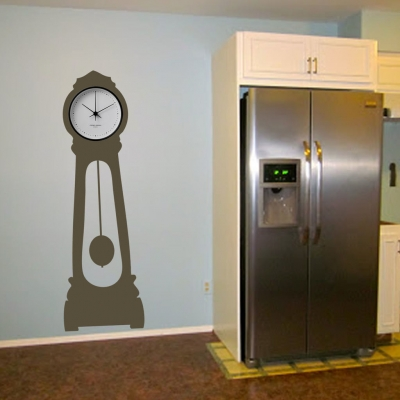 Grandfather clock wall decal sticker