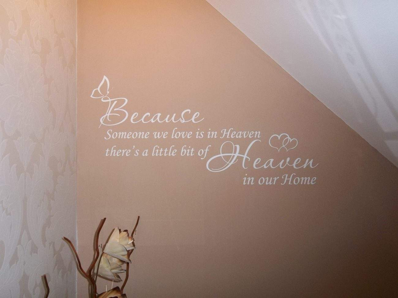 Heaven wall decal sticker quote