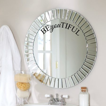 BEyouTIFUL wall decal sticker