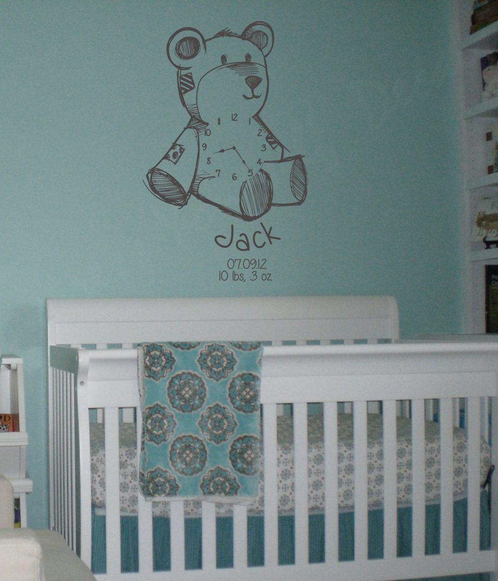 Teddy date of birth clock