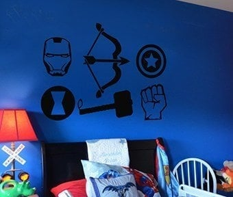 Avengers wall decal sticker