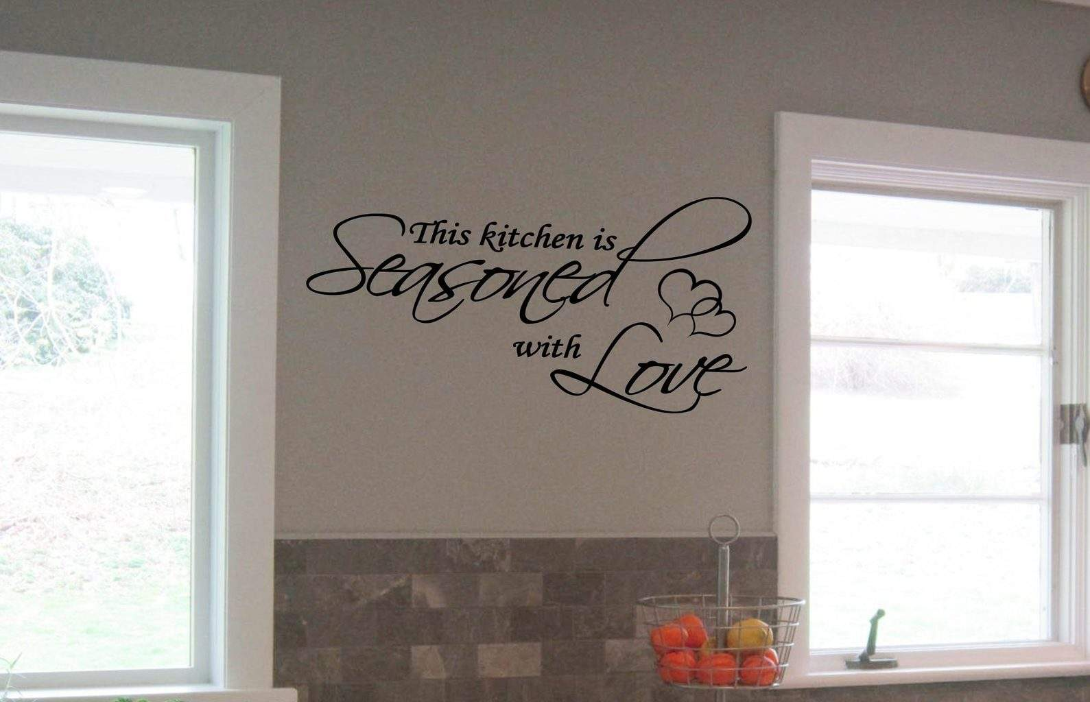 Seasoned With Love Wall Decal Sticker Part 94