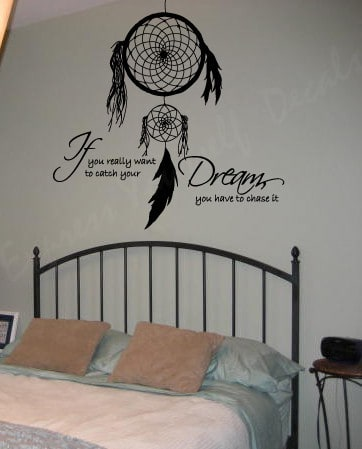 Dream catcher wall art decal sticker