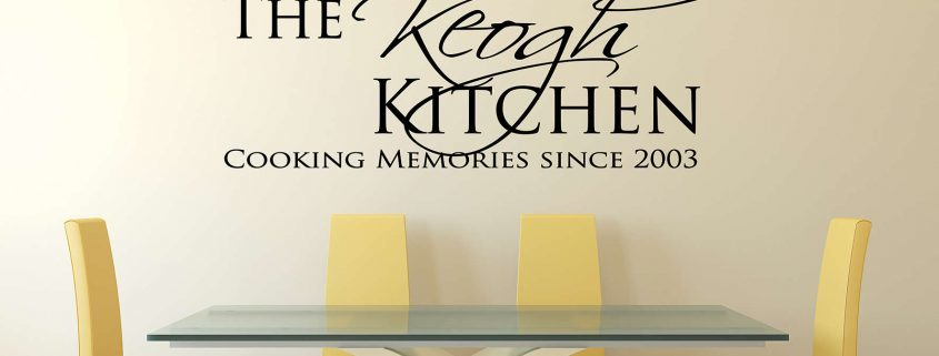 Personalised kitchen cooking memories wall decal sticker, wall decal. wall sticker, kitchen wall decal. kitchen wall sticker, kitchen wall quote, family name wall decal,, Wall Decal, kitchen wall decal, kitchen wall sticker, personalised kitchen wall decal, family name wall decal, custom family name wall decal, kitchen wall quote, kitchen wall words, personalised wall sticker for kitchen