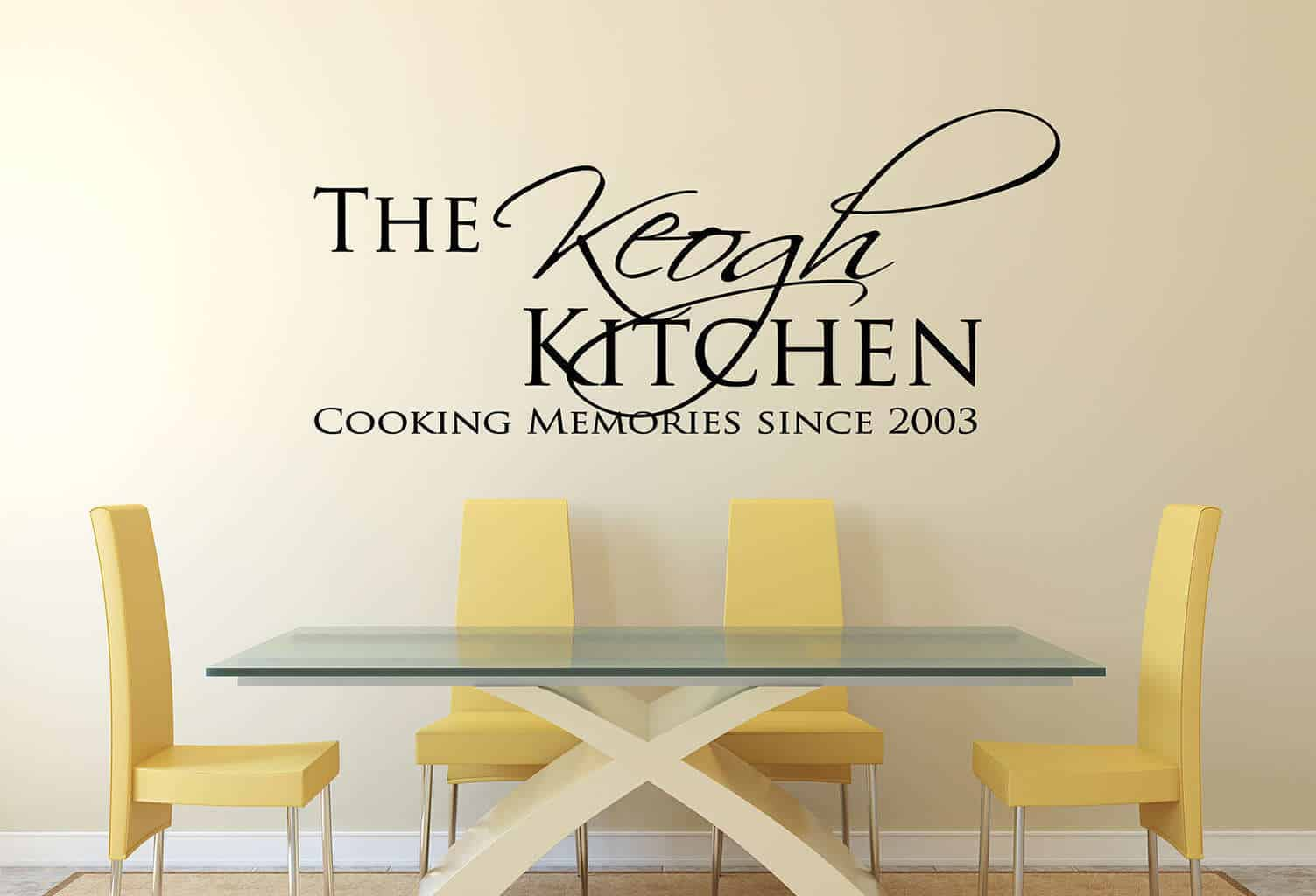 Personalised kitchen cooking memories wall decal sticker amipublicfo Choice Image