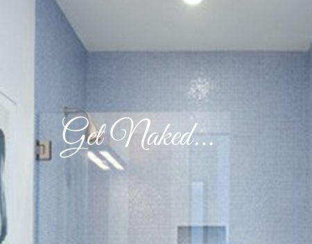 Get Naked wall decal sticker