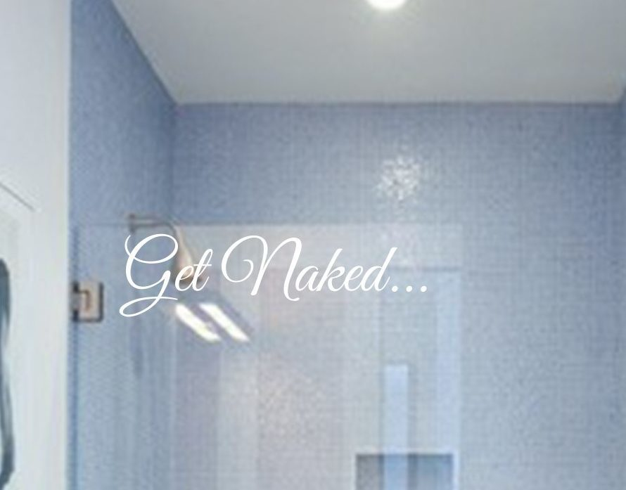 Superb Get Naked Wall Decal Sticker