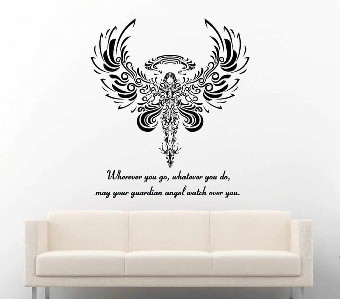 Guardian angel wall decal sticker