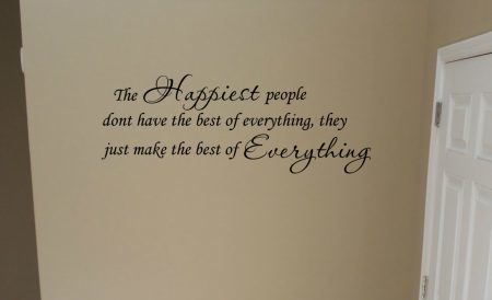 Happiest people wall decal sticker