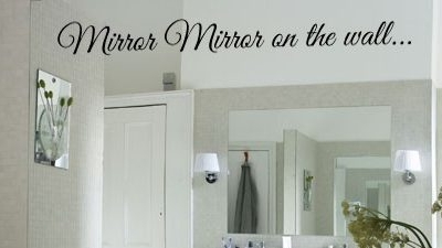 Mirror Mirror wall decal sticker