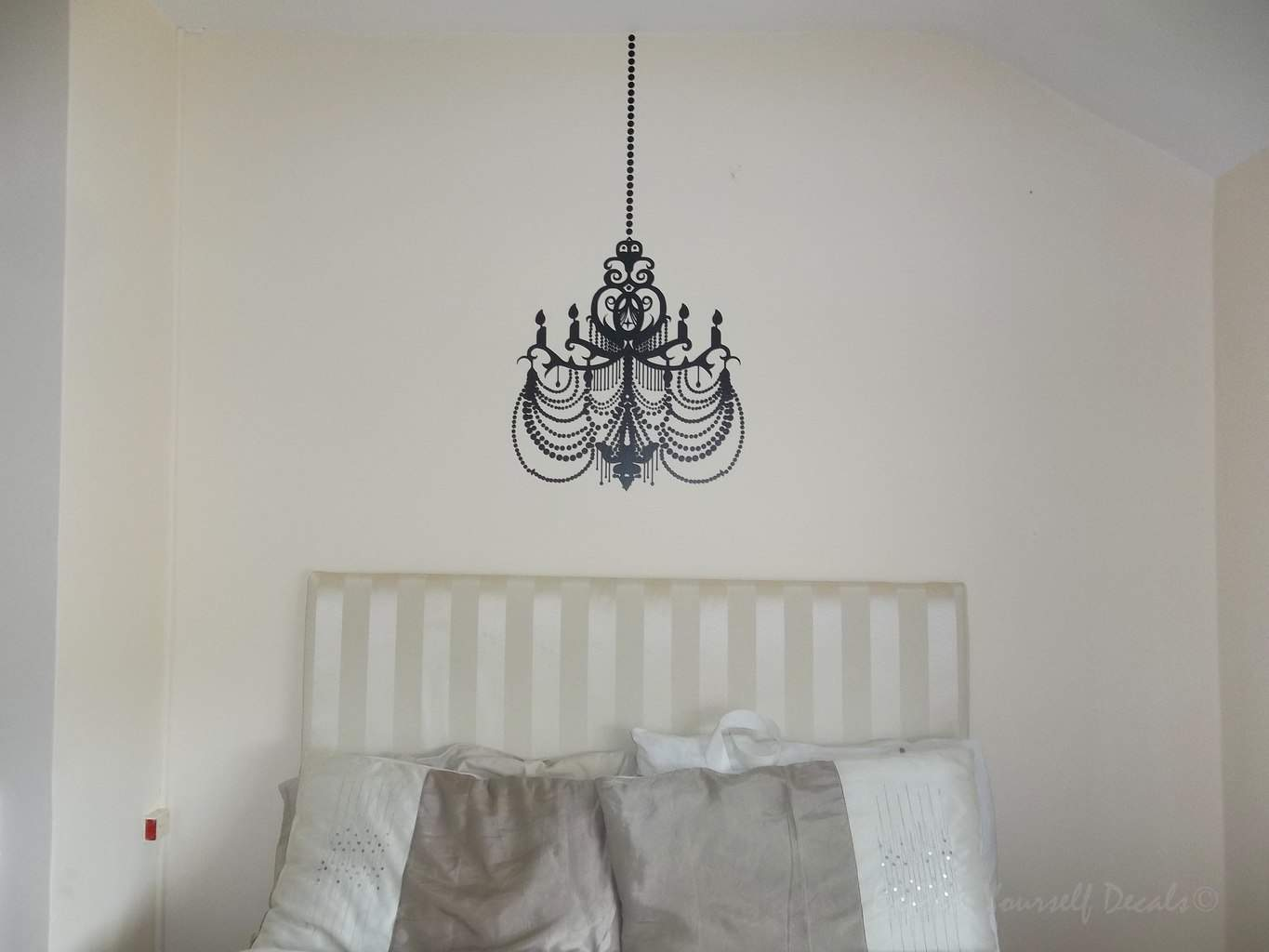 Chandelier wall decal sticker wall decal wall art decal chandelier wall decal sticker arubaitofo Gallery