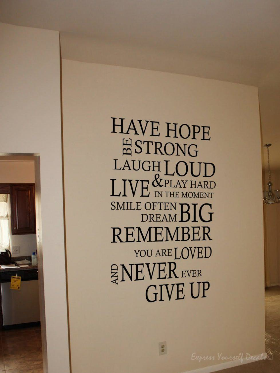 Have Hope wall decal sticker