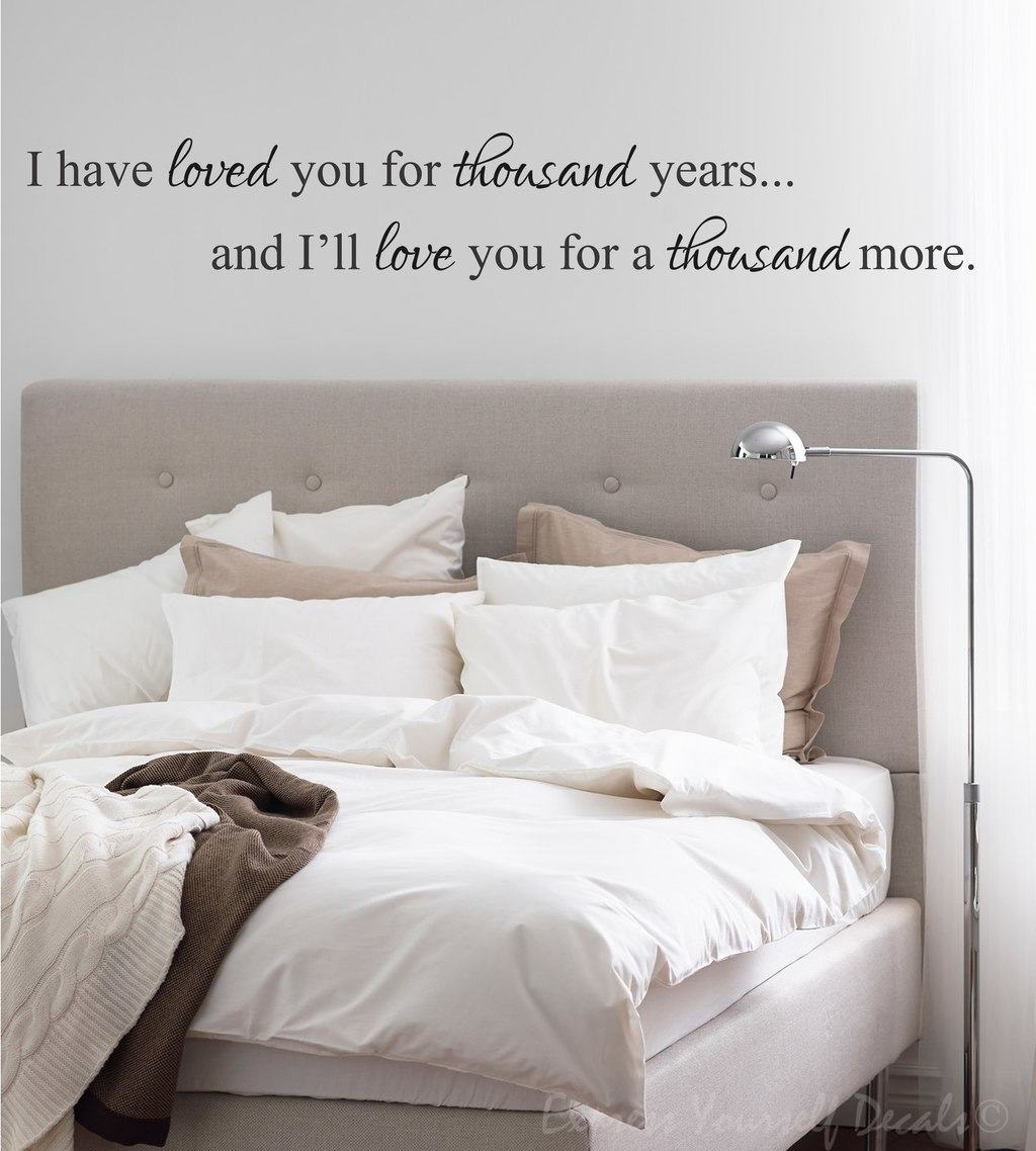 Personalised Wall Murals I Have Loved You Wall Decal Wall Decal Wall Art Decal