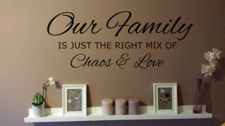 Chaos and Love wall decal sticker