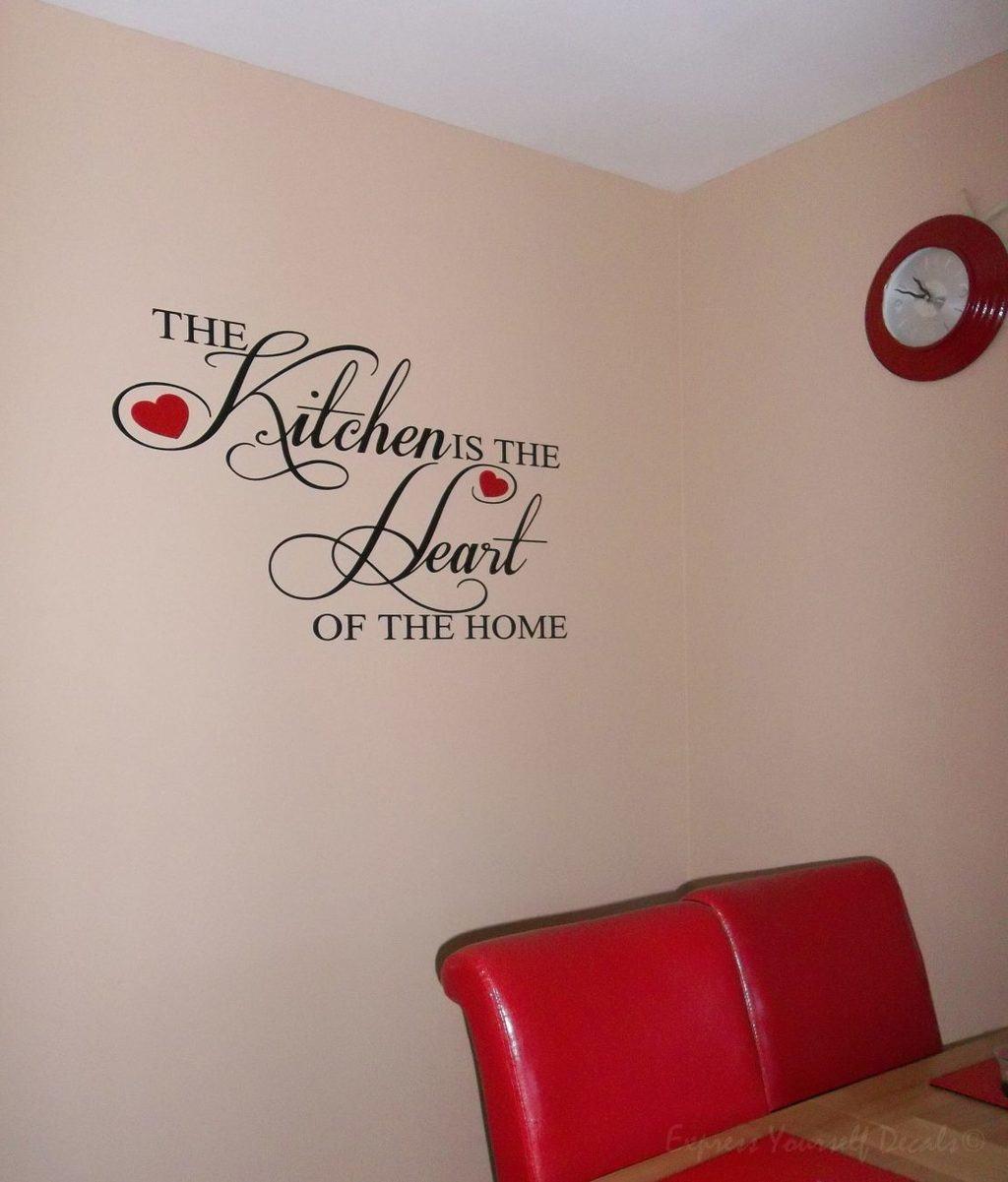 Kitchen - wall art decal