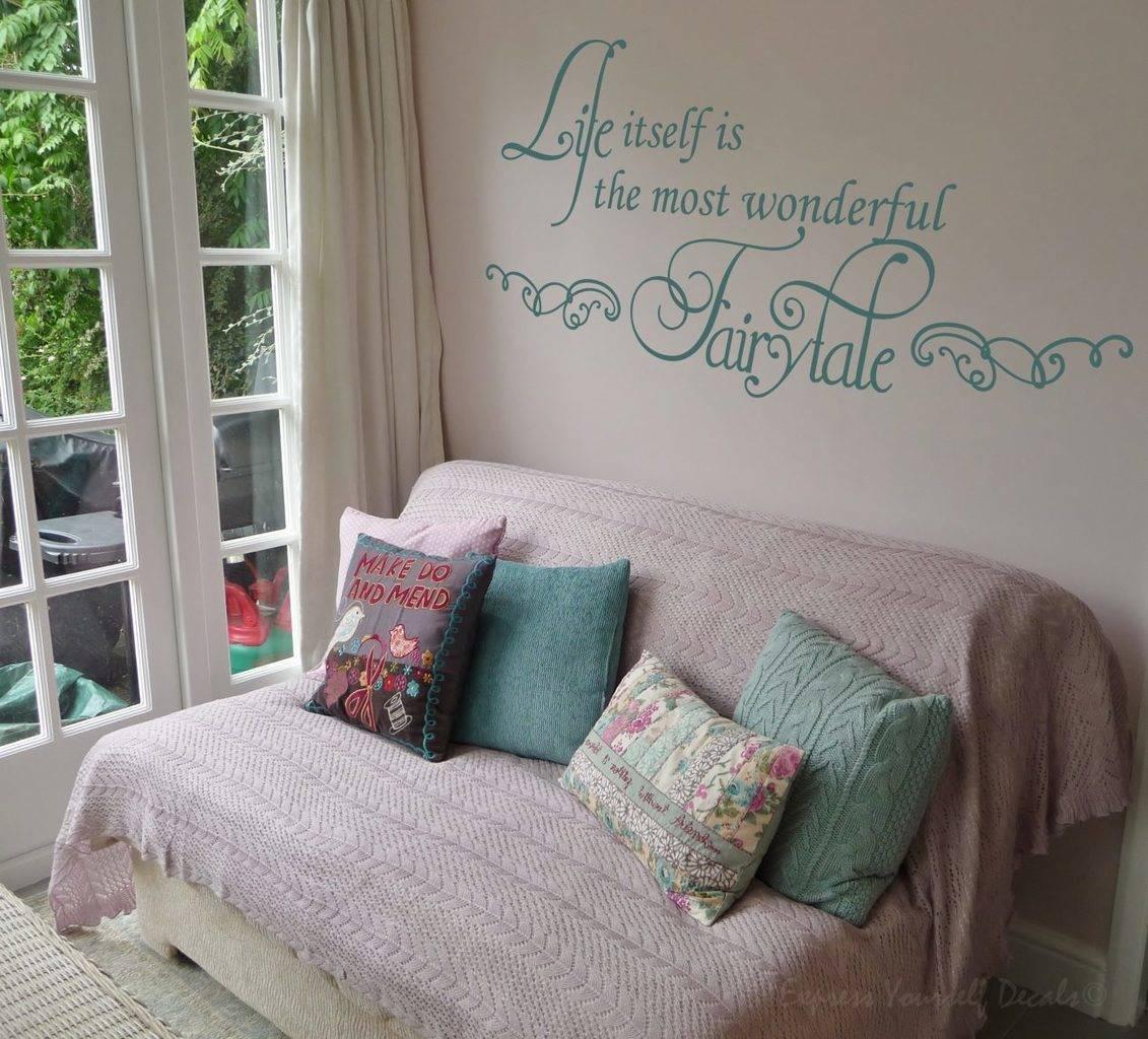 Wonderful fairytale wall decal sticker