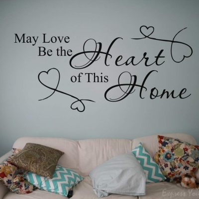 May love be wall decal sticker