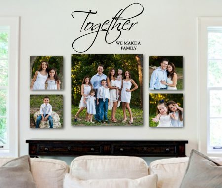 Together wall art decal sticker