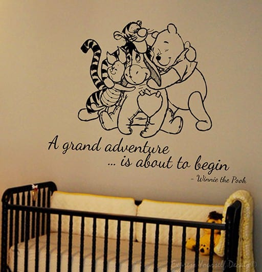 Winnie the Pooh - wall art decal