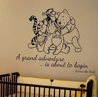 A grand adventure wall decal sticker