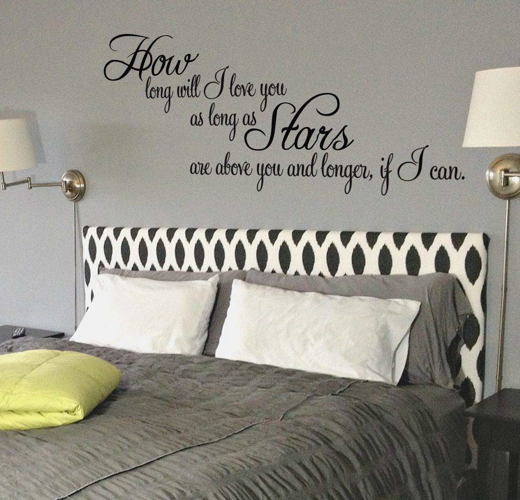 How long will I love you wall decal sticker