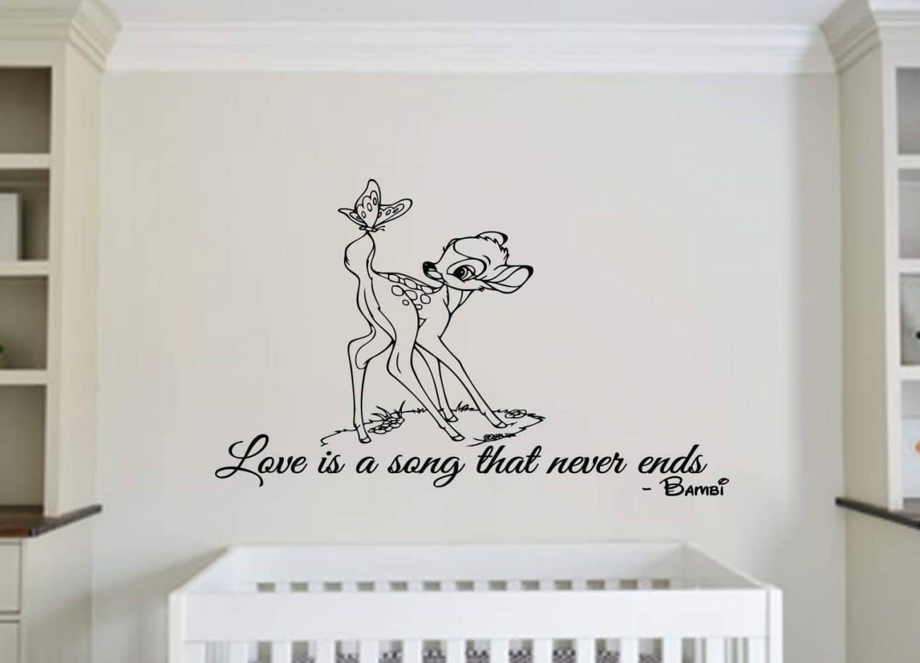Love is a song wall decal sticker