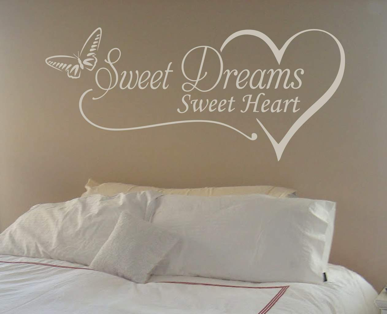 Sweet Dreams Sweet Heart Wall Decal Wall Decal