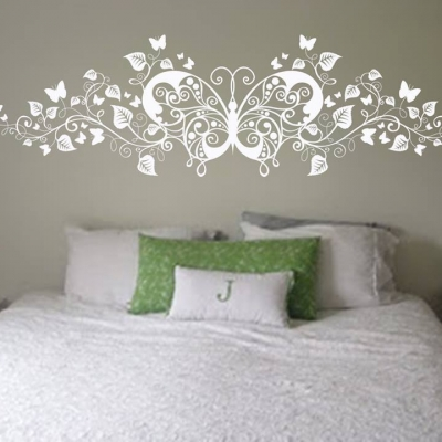 Butterfly & Floral Wall Decals