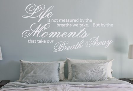 Life moments wall art decal