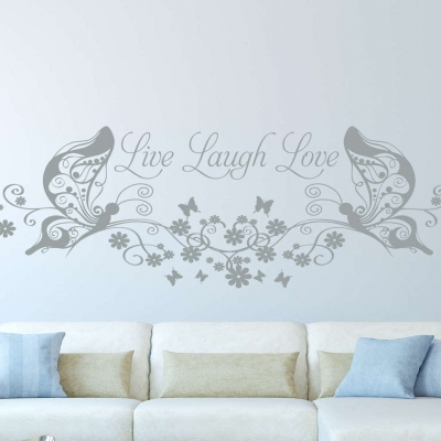 Live Laugh Love Wall Art Decal Wall Decal Wall Art Decal - Wall decals live laugh love