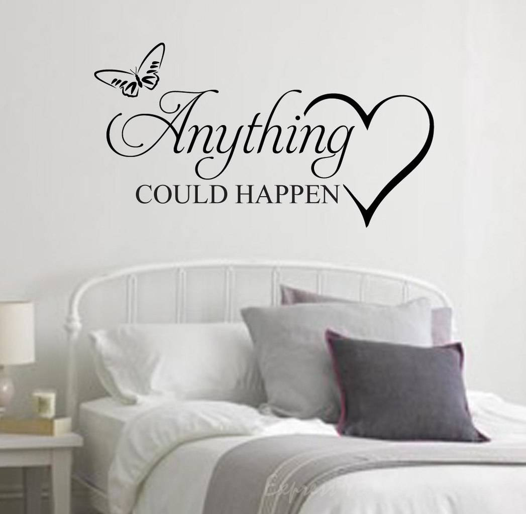 Celebrate life with life quote wall decals by eydecals anything could happen wall decal amipublicfo Images