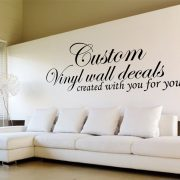 Design your own wall art decal Custom wall art decals