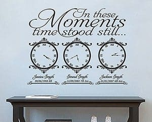 Date of birth memory clocks